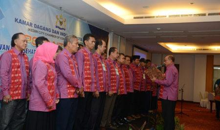 Pelantikan Dewan Pengurus KADIN Kota Kediri