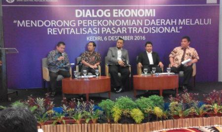 Dialog Ekonomi Untuk Mendorong Revitalisasi Pasar Tradisional